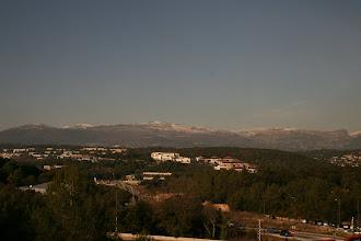Photo: La vue de l'IUT Sophia-Antipolis (sur Amadeus principalement).