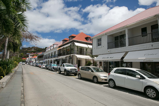 gustavia-main-drag.jpg - Rue de la Republique, the main street of French-speaking Gustavia.