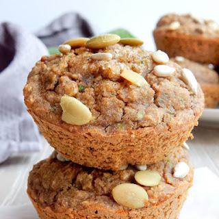 Sugar-Free Chai Zucchini Breakfast Muffins.