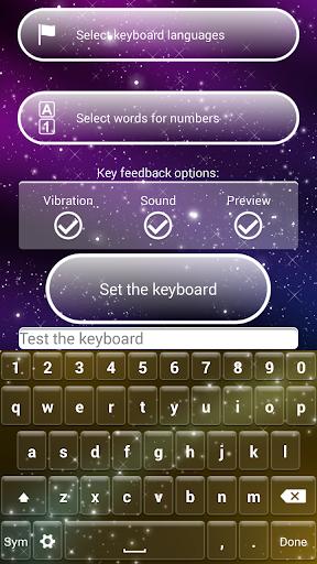 玩個人化App|フェアリーダスト キーボード テーマ免費|APP試玩