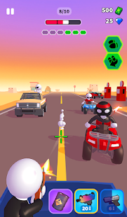 Rage Road Screenshot