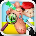Tiny Fuß Arzt - Kinder Spiele icon