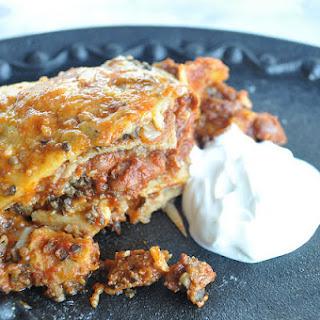 5-Minute Enchilada Pie