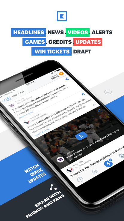 Kroo Sports - Sports News, Scores,and Free Tickets- screenshot