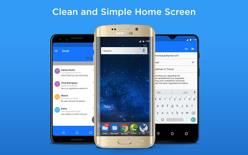 PC u7528 Email Home - Full Screen Email Widget and Launcher 1