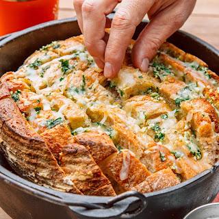 Pull Apart Garlic Bread.
