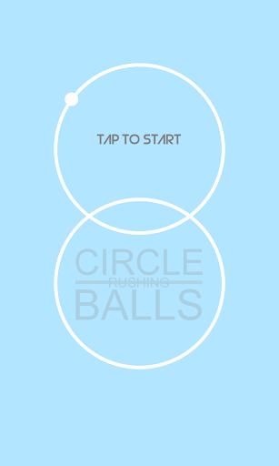 Circle Rushing Balls