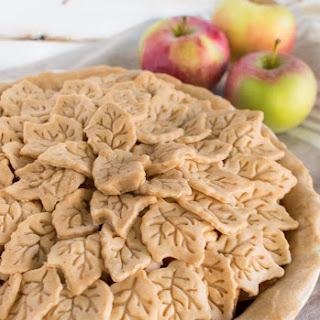 Fall Gingerbread Apple Pie