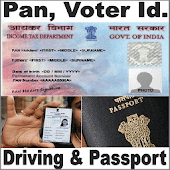 PanCard Voter Driving Passport