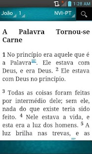 Holy Bible Portuguese (NVIPT) - náhled