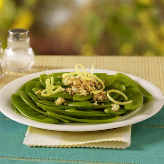 Garlic Sesame Snap Peas