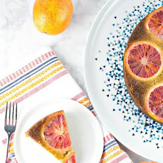 Blood Orange Olive Oil Cake.