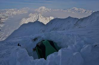 Photo: Camp 4 on East Ridge. 4170 m.