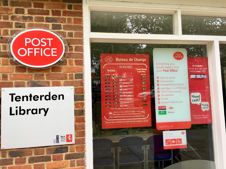 Tenterden Post Office Main Branch Tenterden Gateway