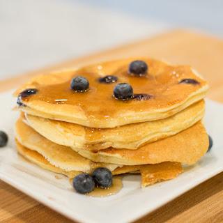 Gluten-Free Blueberry Protein Pancakes