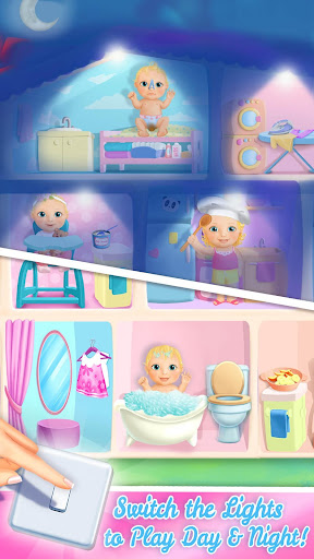 Sweet Baby Girl Doll House - Play, Care & Bed Time  screenshots 3