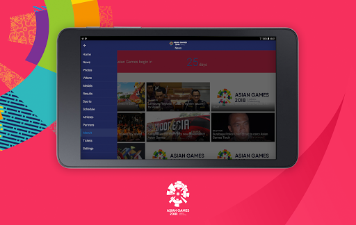 18th Asian Games 2018 Official App 1.0.2 screenshots 13