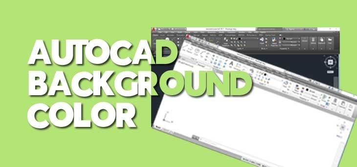 Cara Mengubah Warna Background AutoCAD | Tukanggambar3d