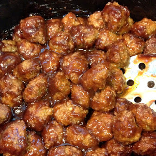 Crock-Pot BBQ Meatballs (Only 2 Ingredients!)