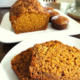 Pumpkin Quick Bread.
