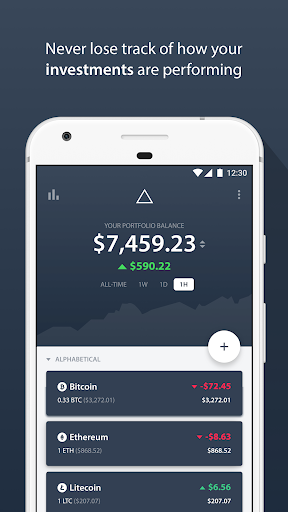 Delta - Bitcoin & Cryptocurrency Portfolio Tracker screenshot for Android