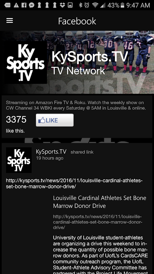 KySports.TV- screenshot