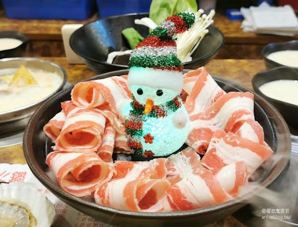 鍋媽媽牛奶鍋,台北我的No.1涮涮鍋 (牛奶鍋必點),新朋友厚片臉頰肉片好好吃喔!