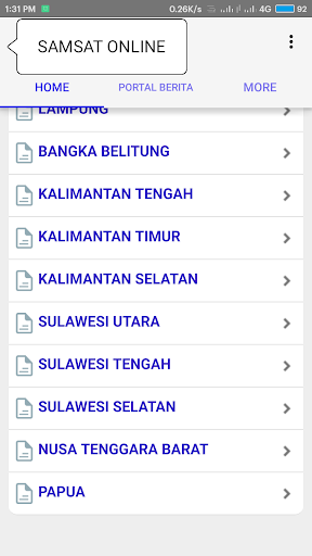Samsat Online 1.8 screenshots 3