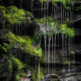 by Reidar Sørensen - Landscapes Waterscapes ( water, flesberg, juvfoss )