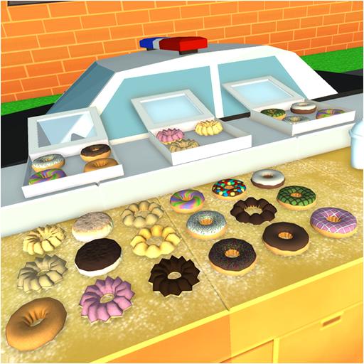 Police Donut Restaurant PD