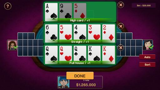 Chinese Poker Offline 1.0.2 screenshots 6