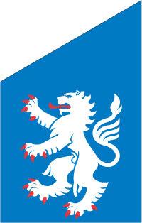 Halland fasadflagga 75 cm