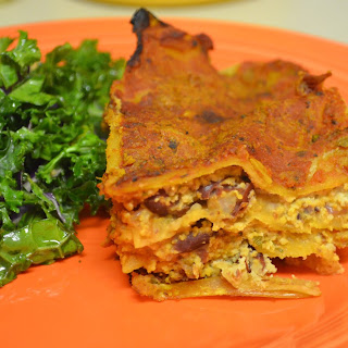Vegan Whole Wheat Red Lasagna