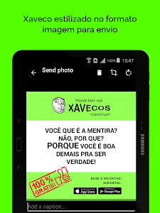 Xavecos para WhatsApp screenshot 5