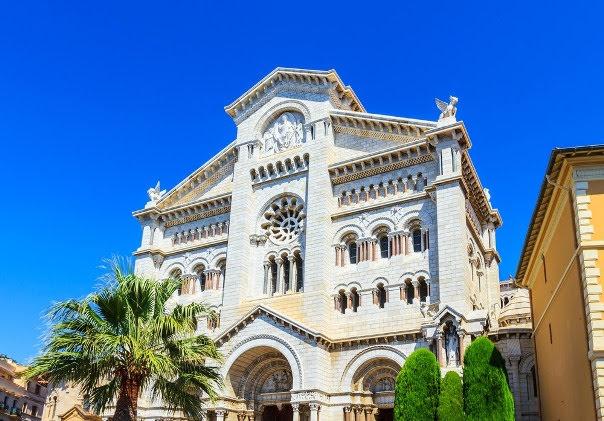 Monaco Cathedral.