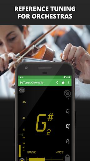 Guitar Tuner, Bass, Violin, Banjo & more | DaTuner screenshot 7