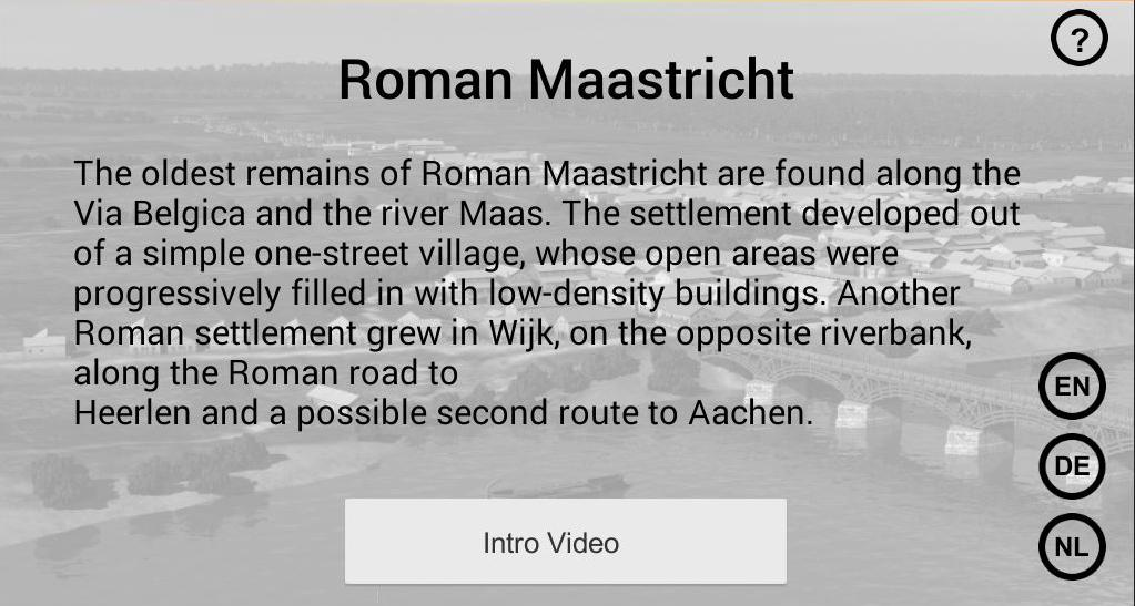 Roman Maastricht- screenshot