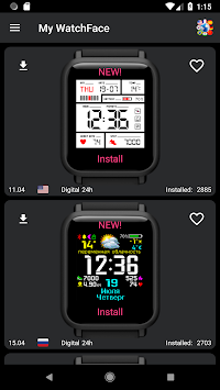 My WatchFace [Free] for Amazfit Bip APK Latest Version Download