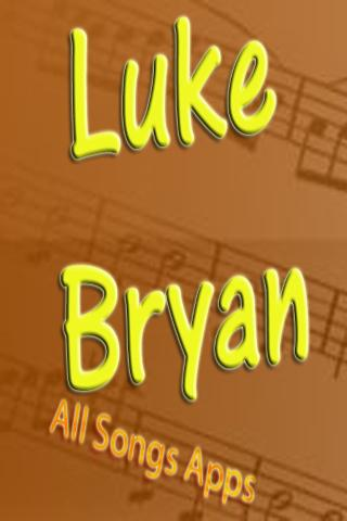 All Songs of Luke Bryan