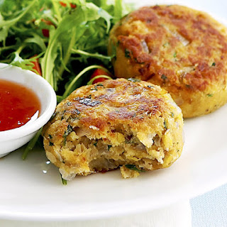 Chickpea Fish Cakes.