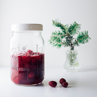 Brandied Cranberries