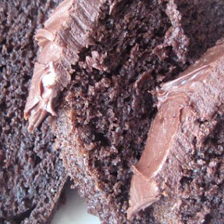 Fool Proof Chocolate Bundt Cake With Fudge Frosting.