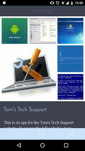 Tom's Tech Support