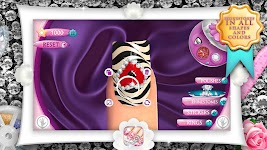 screenshot of Fashion Nails 3D Girls Game