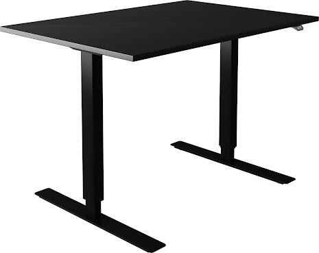 Skrivbord el svart 1400x800