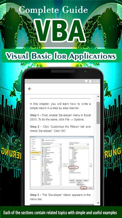 Learn Visual Basic for Applications - VBA Tutorial – (Android Apps