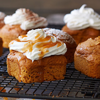 2-ingredient Pumpkin Cakes.