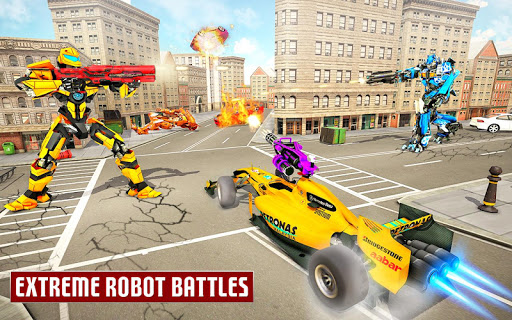Dragon Robot Car Game u2013 Robot transforming games screenshots 7