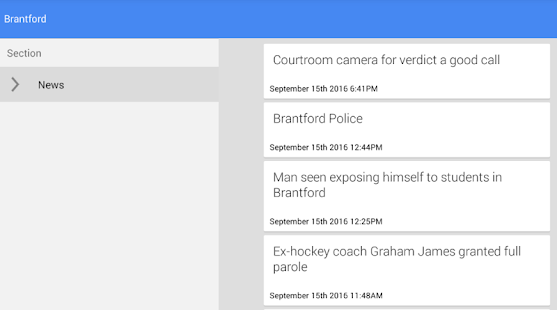 Brantford News - náhled