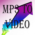 MP3 Converter To Video MP4 icon